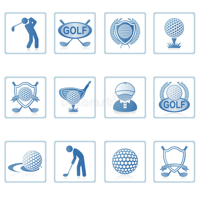 Free Web Icons : Golf II Royalty Free Stock Photo - 7280755