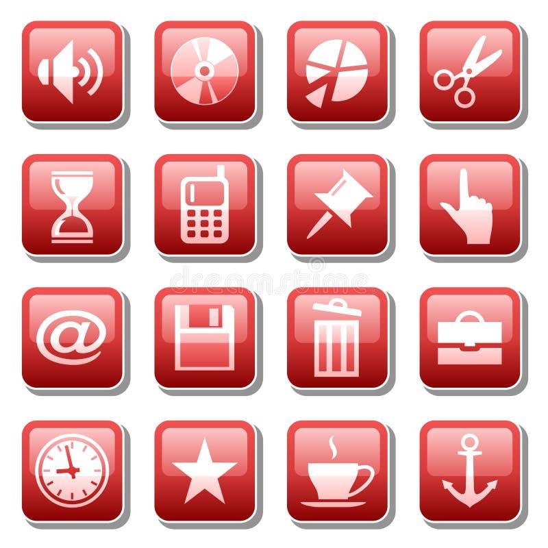 Free Web Icons. Part Three Royalty Free Stock Photo - 6021795