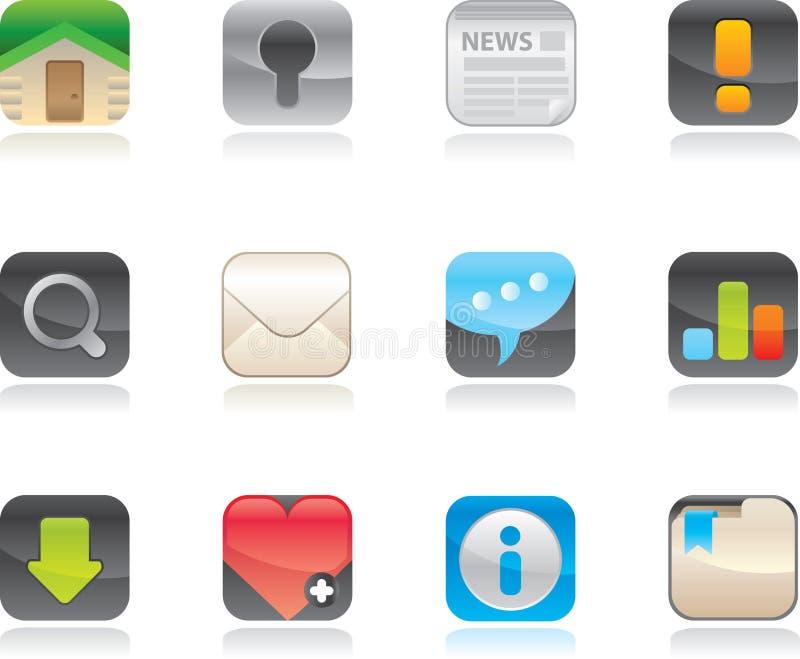 Web icons set. stock photos