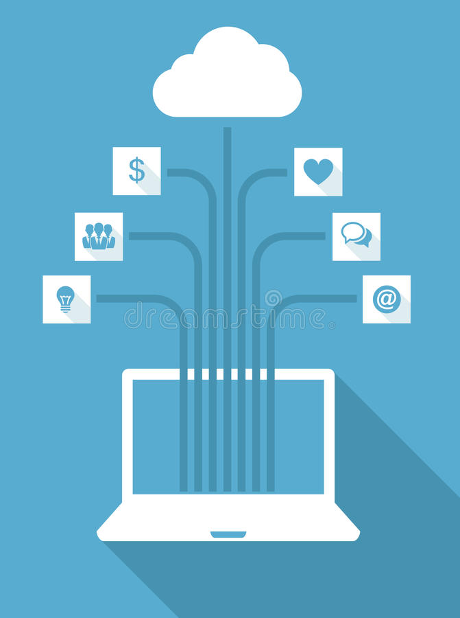 Download Web Icons stock illustration. Image of gear, internet - 33284433