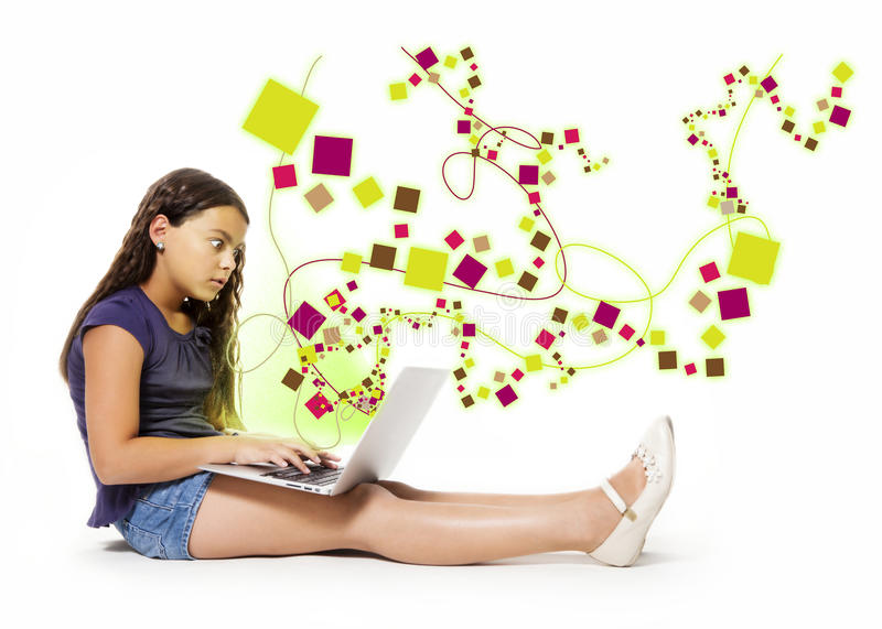Download Web interaction stock image. Image of network, fright - 33434263