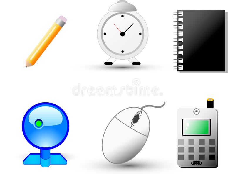 Web And Internet Icons Royalty Free Stock Photo
