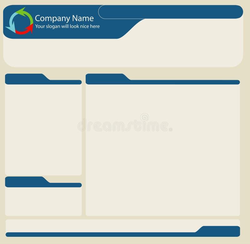 Web layout stock photography