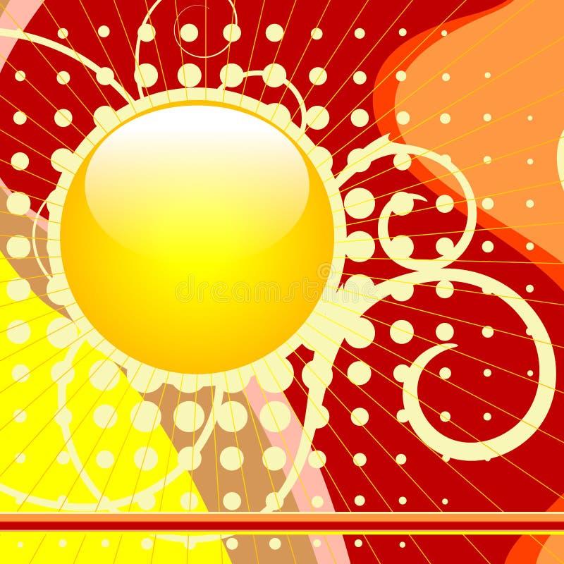 Web lustré de bouton illustration de vecteur