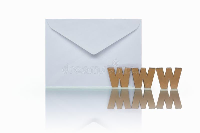 Web mail stock image