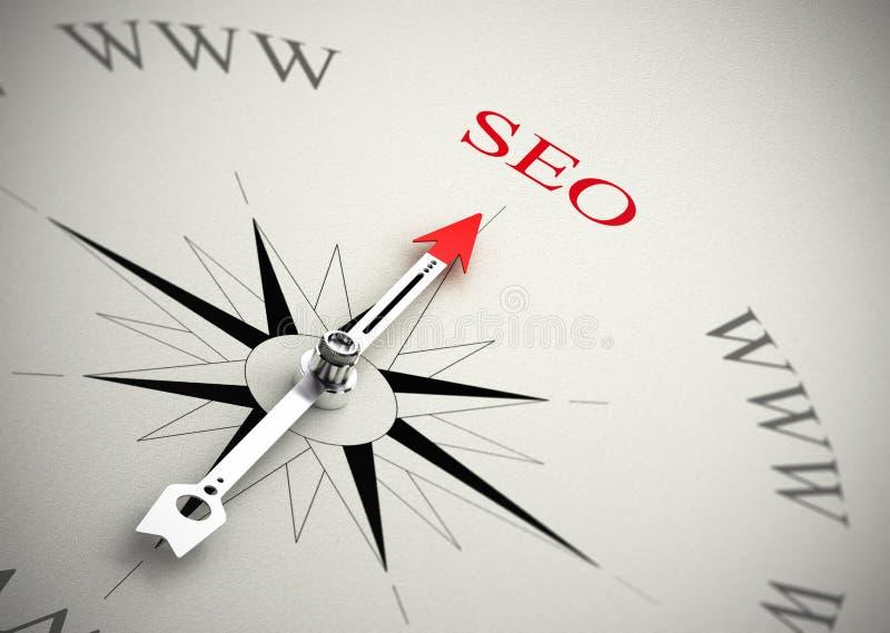Web Marketing, SEO vector illustratie