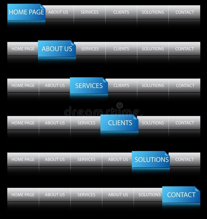 Web-Navigation lizenzfreies stockfoto