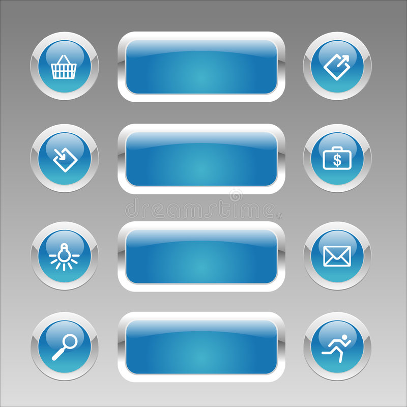 Free Web Navigation Set Royalty Free Stock Images - 5203229