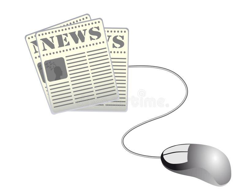 Web News Stock Image