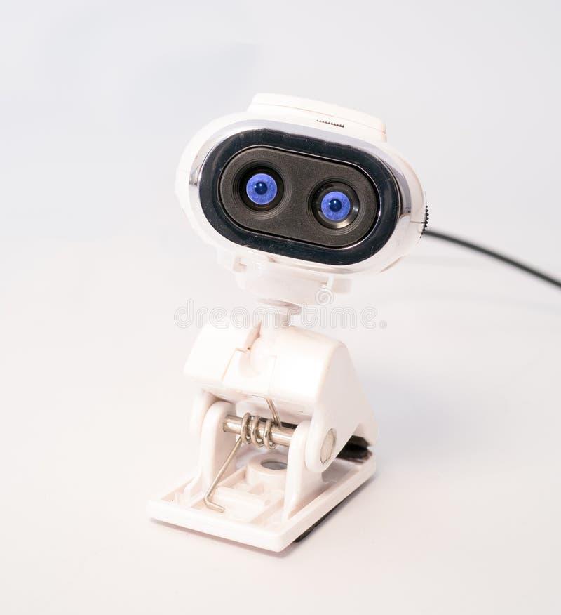 Web-Nocken-Spions-Augen stockfotos