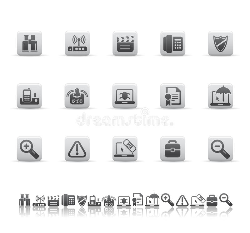 Download Web And Office Icons Stock Photos - Image: 9698963