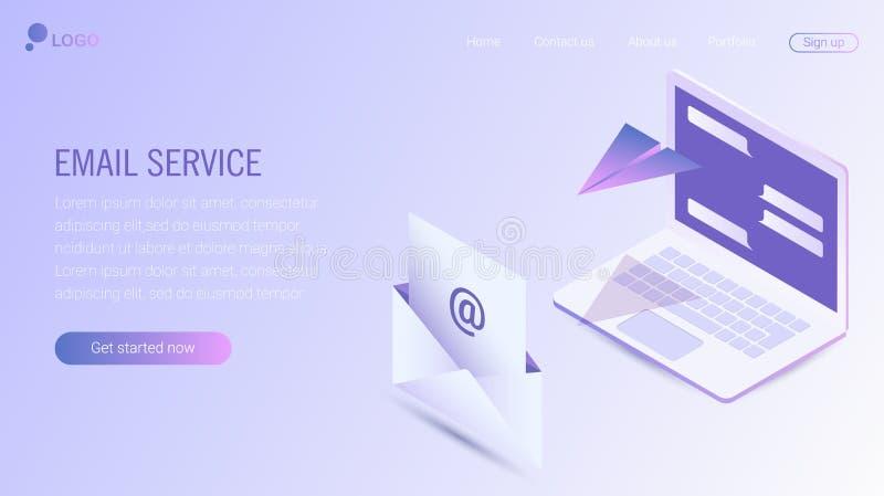 Web-pagina ontwerpmalplaatje Eps 10 vector illustratie