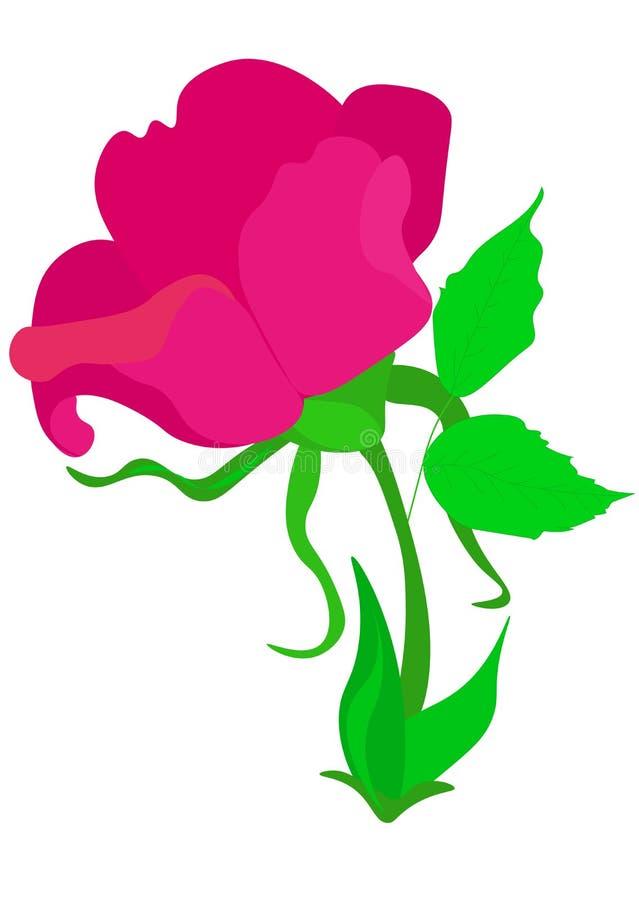 web Ramo de las rosas Vector EPS 10 Ramificaci?n de rosas rojas Ilustraci?n del vector stock de ilustración