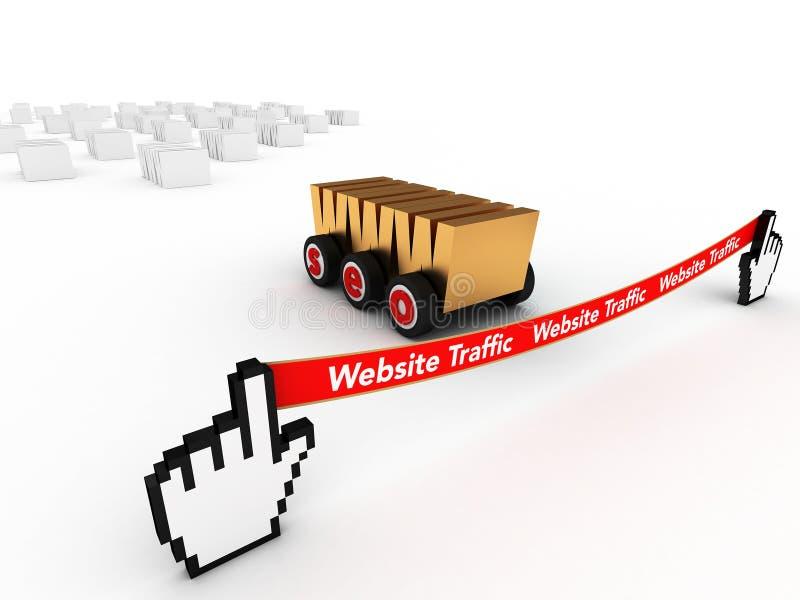 Web SEO imagens de stock
