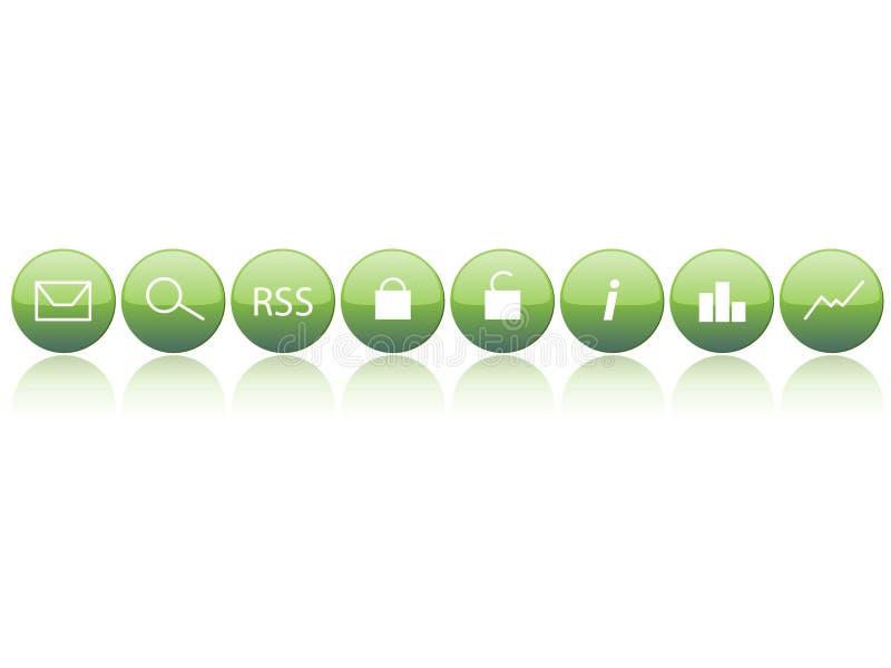 Download Web simple de bases illustration de vecteur. Illustration du bouton - 8654431