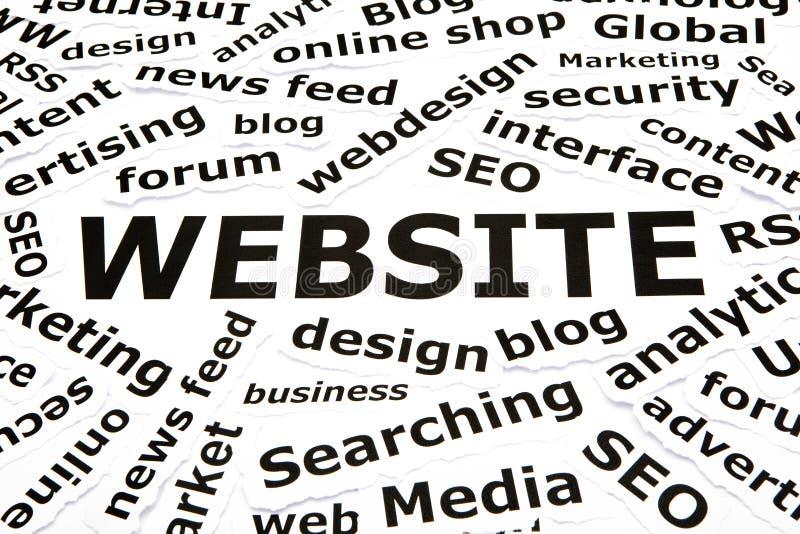 Web site com outras palavras relacionadas