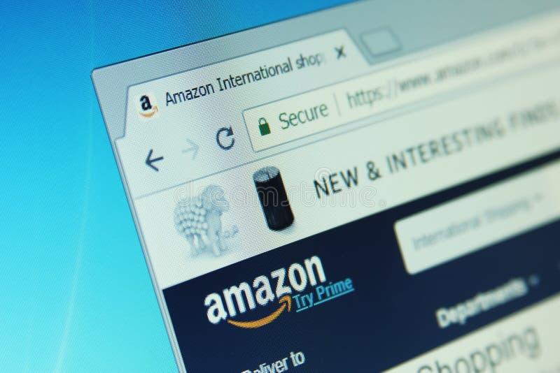 Web site de Amazon fotos de stock royalty free