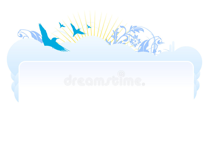 Web site header design vector. Vectored web site header design for personal sites or company sites and also print commercials and decorations vector illustration