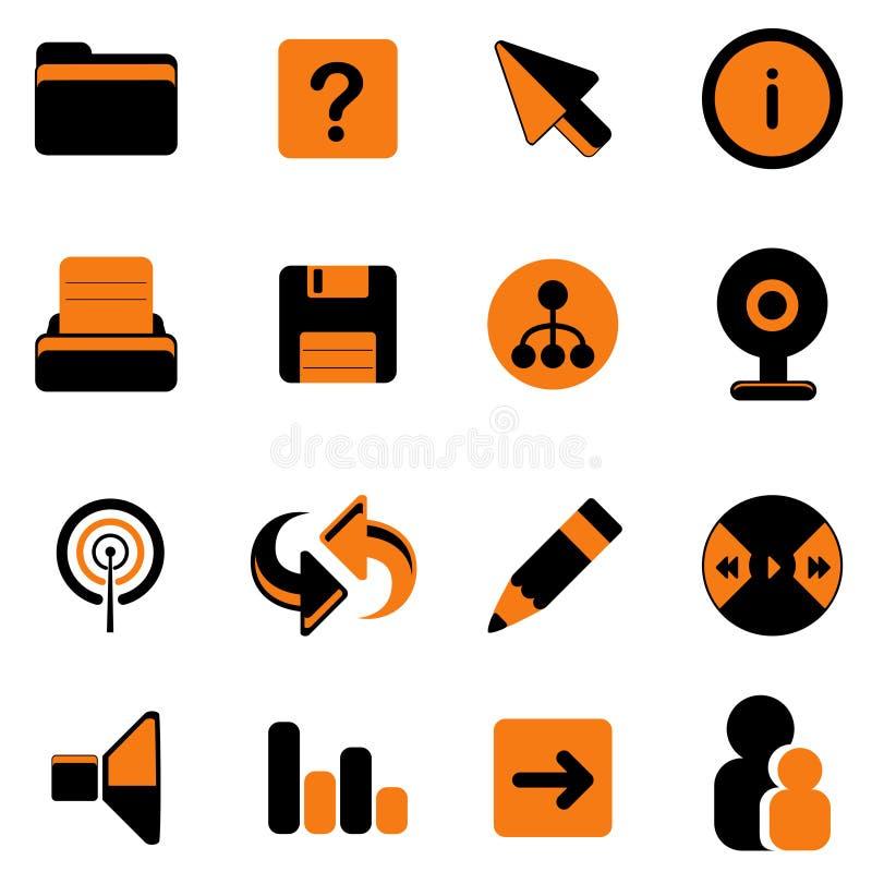 Web site icon vector illustration
