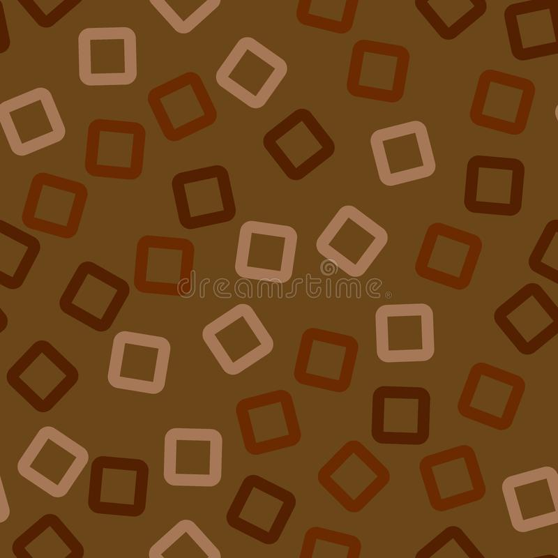 Squares - abstract seamless pattern. stock illustration