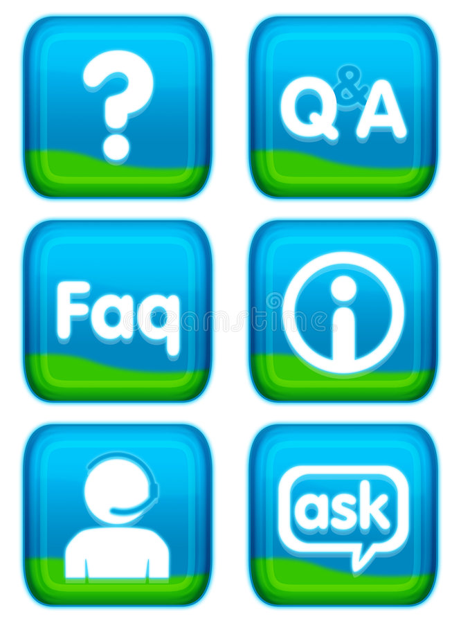 Web-Taste - Stützset Stockbild