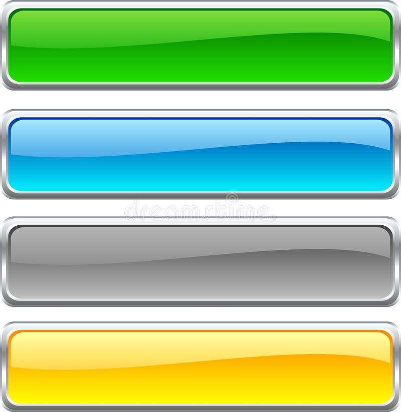 Web-Tasten. vektor abbildung