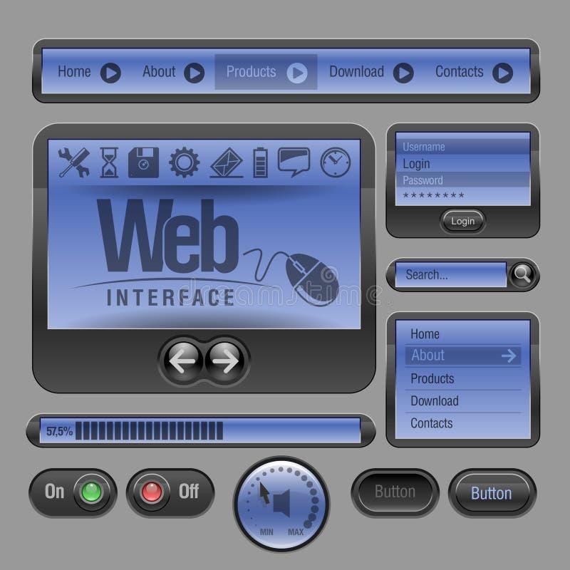 Download Web UI Elements stock vector. Illustration of line, digital - 23835540