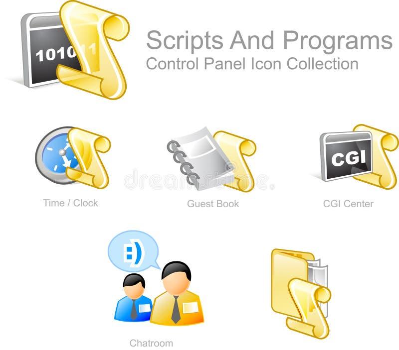 Web- und Internet-Ikonen   stock abbildung