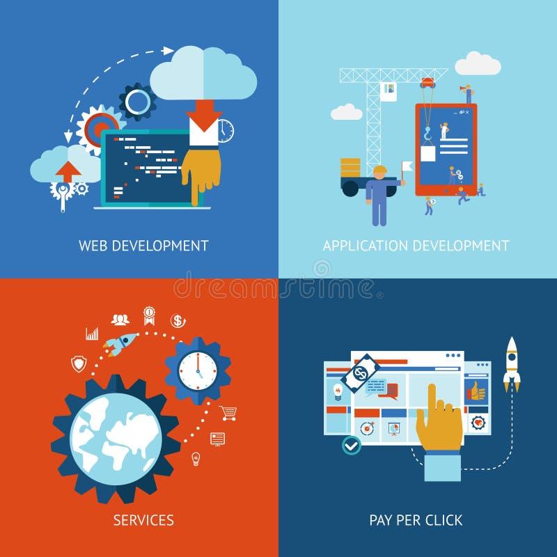 Web y desarrollo de aplicaciones libre illustration