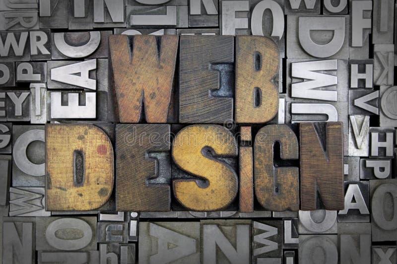 Webbdesign arkivbilder