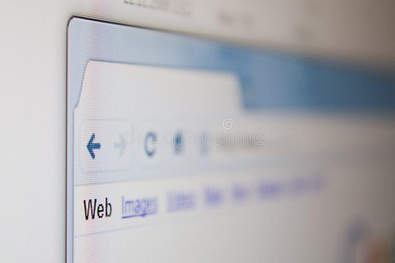 webbläsarerengöringsduk arkivbilder