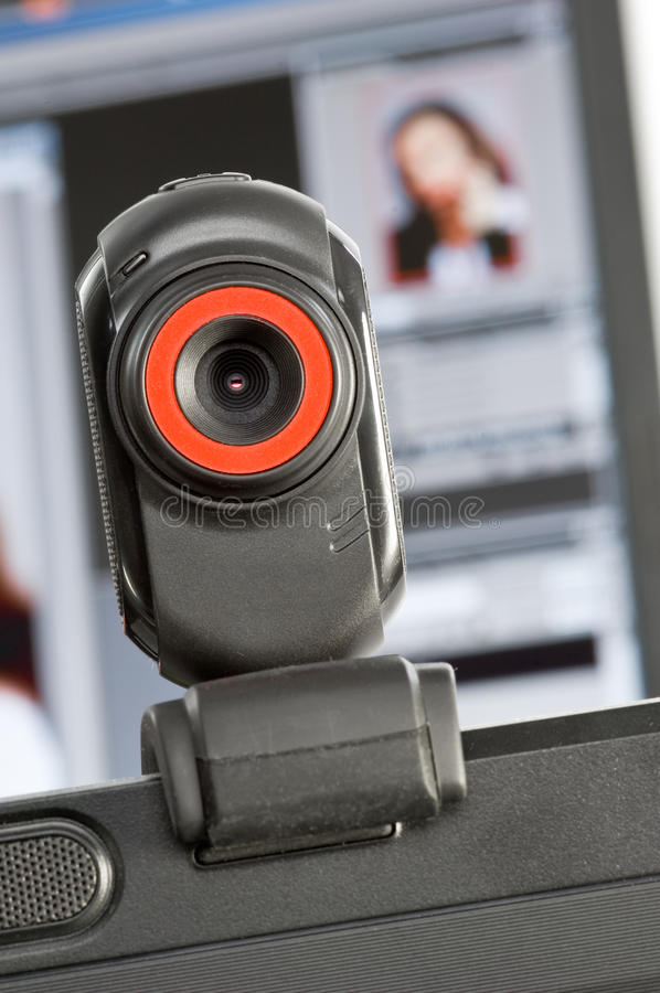 Webcam stock fotografie