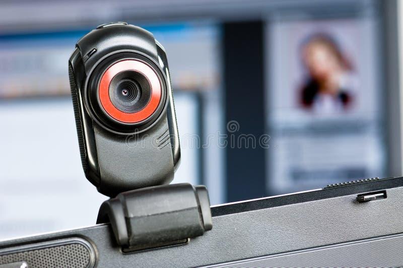webcam στοκ φωτογραφία