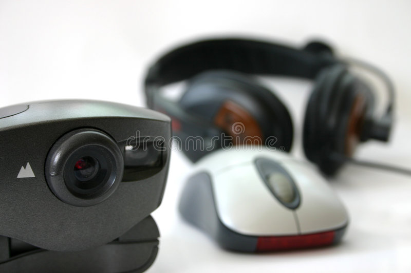 Download Webcam chat stock image. Image of shallow, worldwide, connection - 22837