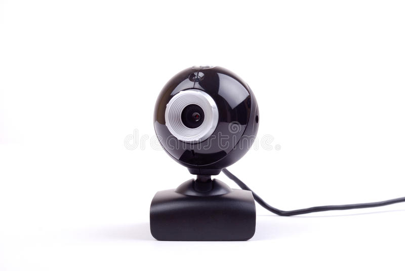 Download Webcam Isolated On White Background Stock Photo - Image: 11082756