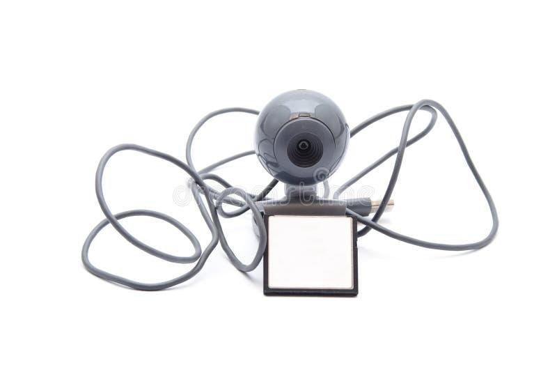 Webcam med kortmedel fotografering för bildbyråer