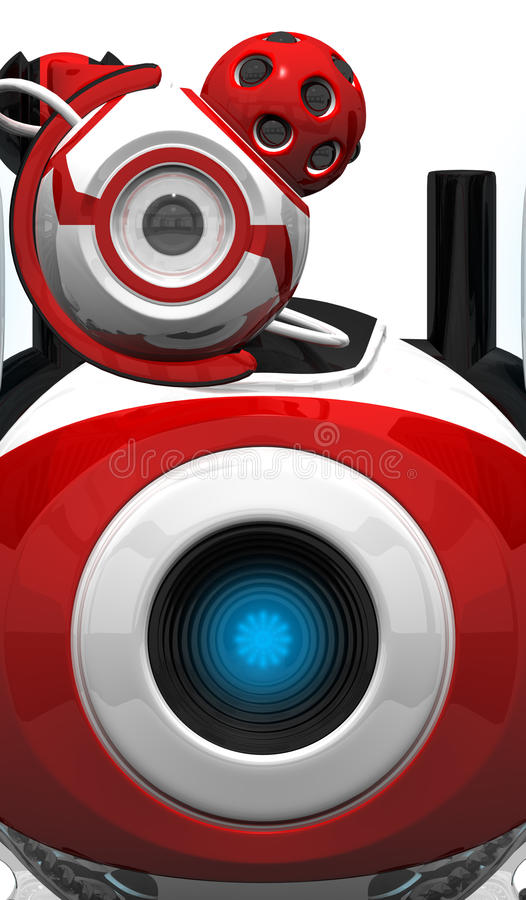 Download Webcam Robot Spy And Watch Unit Stock Illustration - Illustration: 21903921