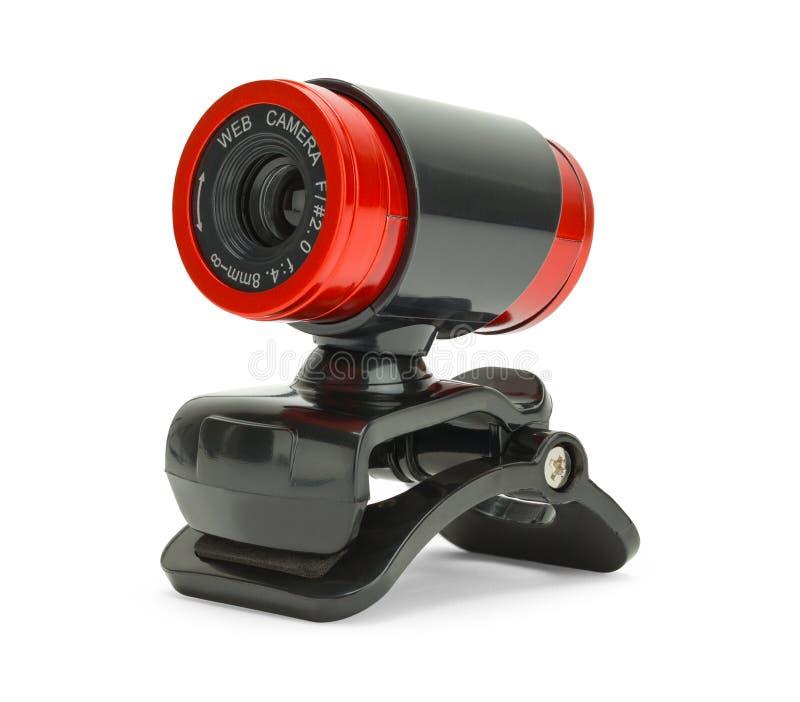 Webcam rouge photo stock
