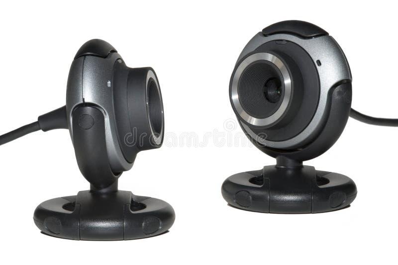 webcam två fotografering för bildbyråer
