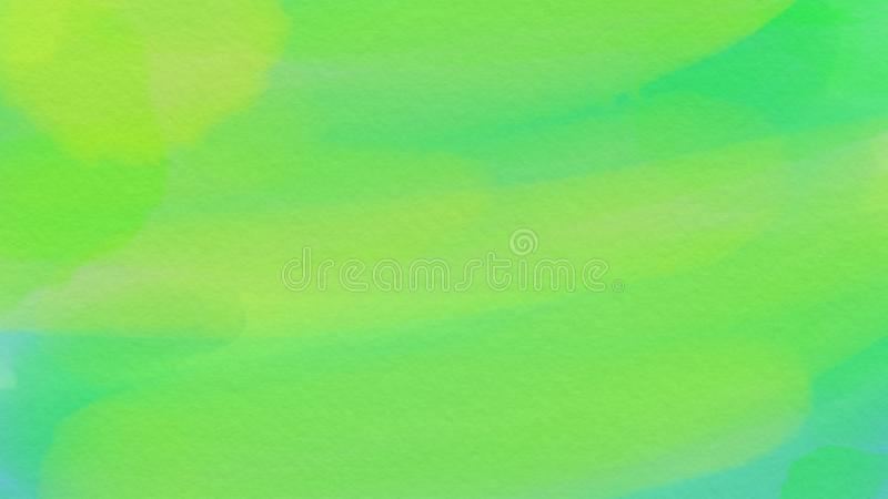 webdesign的令人敬畏的抽象水彩绿色背景,五颜六色的背景,被弄脏,墙纸 库存照片