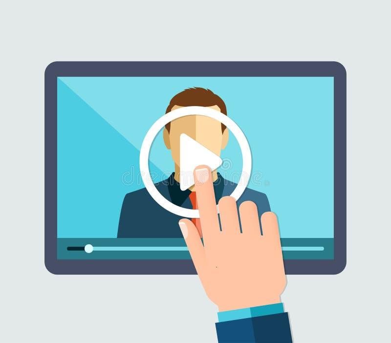Webinar, on-line να μάθει, διαλέξεις και κατάρτιση απεικόνιση αποθεμάτων