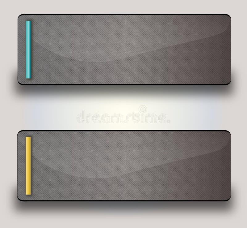 Webknoop vector illustratie