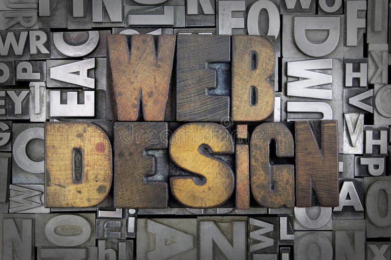 Webontwerp stock afbeeldingen