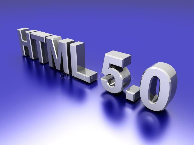 Download Webpage HTML 5.0 Stock Image - Image: 21479441