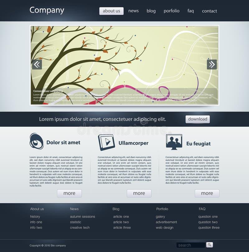Website vector illustratie
