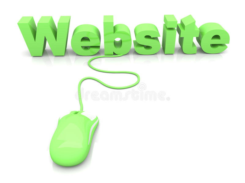 Download Website stock illustration. Image of click, cable, retail - 26849858