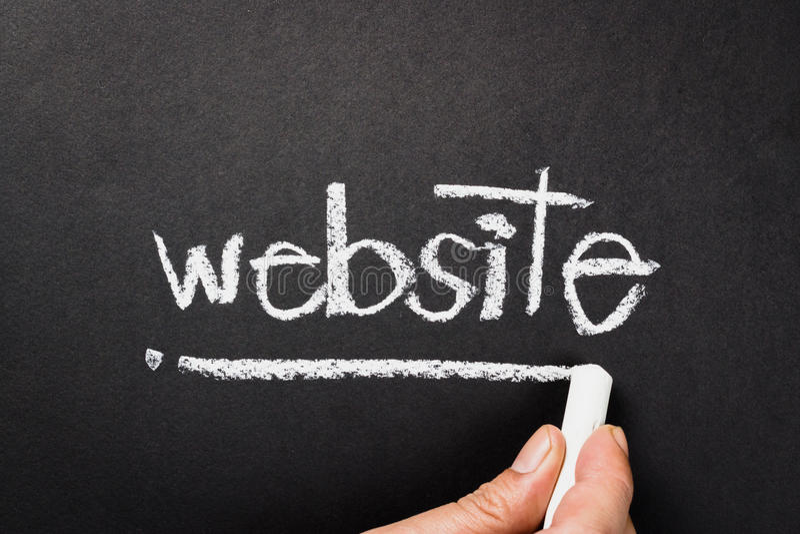 website fotografie stock libere da diritti
