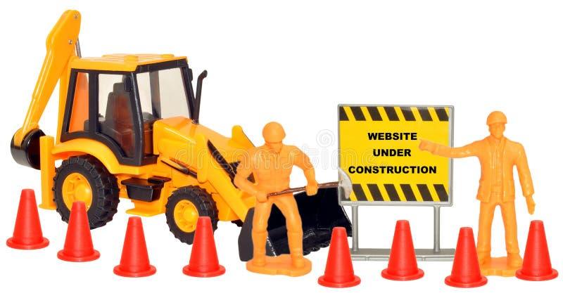 Website in aanbouw royalty-vrije stock fotografie