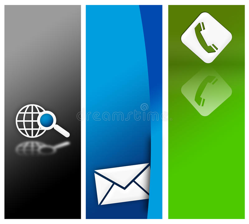 Download Website Banner Design Royalty Free Stock Images - Image: 25600569