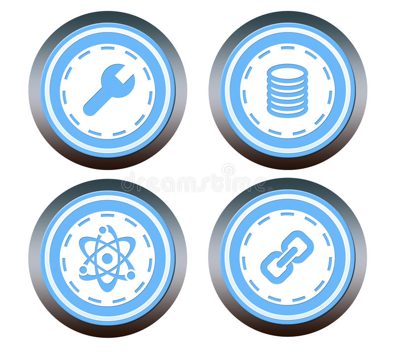 Download Website button stock illustration. Image of glossy, design - 34335834